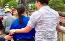 Tài xế taxi lao xuống sông cứu cô gái nhảy cầu tự tử