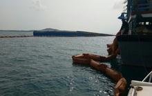Ngăn được nguy cơ tràn 4.000 lít dầu từ tàu bị chìm ở Mũi Né
