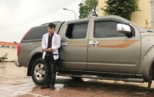 Trộm xe ôtô lái từ Hà Tĩnh vào Quảng Trị để thăm bạn gái mới quen qua mạng