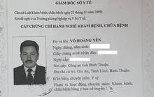 Ông Võ Hoàng Yên chữa bệnh ở địa phương khác là không đúng quy định