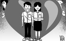Học sinh yêu sớm: Cấm đoán hay vẽ đường?
