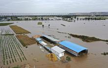 Trung Quốc: Đang chạy, xe buýt bị lũ đẩy xuống sông