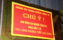 Giám sát chặt, có thể treo biển trước cửa nhà người từ TP HCM, Đà Nẵng về Hà Nội