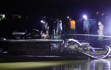 Cảnh sát nổ súng, vây bắt 4 tàu hút cát lậu trên sông Thạch Hãn