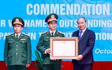 Chủ tịch nước tuyên dương chiến sĩ mũ nồi xanh Việt Nam