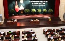 HĐND TP HCM đang họp kỳ họp thứ 3 để bàn và thông qua nhiều quyết sách