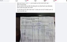 Công ty Cấp thoát nước Khánh Hòa giải thích vụ ghi vượt số khối nước của dân