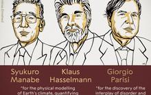 Giải Nobel Vật lý 2021 đã có chủ