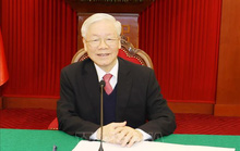 Tổng Bí thư, Chủ tịch nước Nguyễn Phú Trọng điện đàm với Thủ tướng Nhật Bản