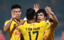 Công Phượng rạng rỡ mừng chiến thắng cùng HAGL sau pha lập công đầu tiên ở V-League 2021