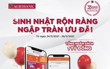 Agribank dành 1 tỉ đồng tặng thưởng cho chủ thẻ nội địa