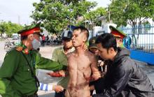 Kẻ ngáo đá ở Quảng Nam tự cắt cổ, liên tục la giết người