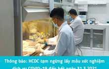 Vì sao TP HCM tạm ngừng lấy mẫu xét nghiệm dịch vụ Covid-19?