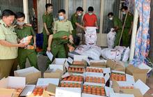 CLIP: Công an An Giang liên tục phát hiện nhiều kho hàng lậu