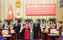 Hà Nội miễn nhiệm, bầu bổ sung một loạt lãnh đạo chủ chốt