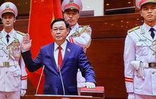 CLIP: Tân Chủ tịch Quốc hội Vương Đình Huệ tuyên thệ nhậm chức