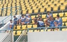 Nhiều cầu thủ CLB Than Quảng Ninh bỏ tập vì ông bầu nợ 7-8 tháng lương