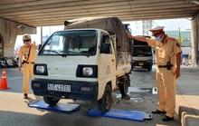 CLIP: CSGT tóm gọn xe quá tải ở ngã tư Bình Phước