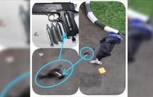 Đến sở cảnh sát Indonesia xả súng, sói đơn độc hết đường sống