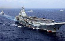 Biển Đông chật chội tàu sân bay Mỹ - Trung