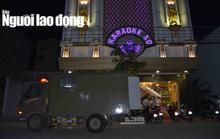 """CLIP: Sau vụ nổ súng kinh hoàng, karaoke XO ở Tiền Giang lại có """"biến"""""""