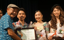 NSND Việt Anh nghẹn ngào khi học trò diễn Những người khốn khổ