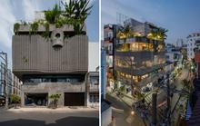 Nhà 6 tầng ngập cây xanh, yên bình giữa không gian phố chợ