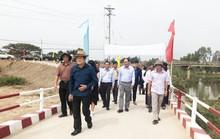 Nguyên Chủ tịch nước Trương Tấn Sang dự khánh thành 17 cầu nông thôn ở Long An
