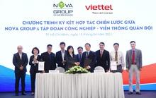 NovaGroup cùng Viettel hợp tác chiến lược trong chuyển đổi số