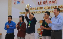 Trao giải hội thao Trường ĐH Kiến trúc TP HCM năm 2021