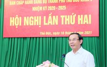 Bí thư Nguyễn Văn Nên: Cấp bách đề xuất cơ chế đặc thù cho TP Thủ Đức