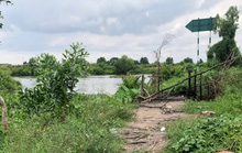 Phát hiện thi thể nữ mặc bộ đồ màu tím trên sông ở Củ Chi