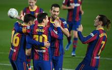 Messi nhảy múa ghi bàn trước Getafe, Barcelona trở lại Top 3 La Liga