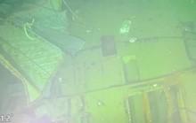 Hình ảnh tàu ngầm Indonesia nứt làm 3 phần dưới đáy biển