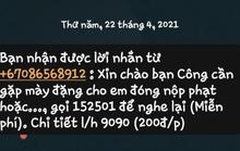 CSGT TP HCM nói gì về tin nhắn dụ đóng phạt nguội?