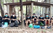 Bình Phước: Bắt giữ 9 người Trung Quốc nhập cảnh trái phép