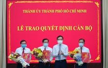Thành ủy TP HCM trao quyết định nhân sự cho Báo Người Lao Động, Báo Phụ Nữ