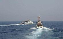 4 tàu chiến Iran vây hãm 2 tàu tuần duyên Mỹ ở Vịnh Ba Tư