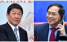 Điện đàm, Bộ trưởng Ngoại giao Việt - Nhật trao đổi về Biển Đông