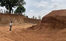 Khai thác đất trái phép để làm đường 460 tỉ đồng