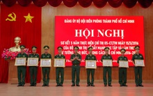 Bộ đội biên phòng TP HCM xây dựng vững chắc thế trận Biên phòng toàn dân