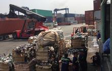 Tái xuất 419 container hàng tồn phế liệu