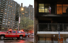 Cháy nhà, kỳ tích xuất hiện khi bé gái 8 tuổi nhảy từ tầng 6