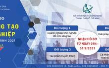 Giải thưởng Đổi mới sáng tạo và khởi nghiệp TP HCM 2021