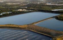 Bang Florida đối mặt nguy cơ bức tường nước thải cao 6 m