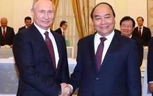 Chủ tịch Trung Quốc, Tổng thống Nga chúc mừng Chủ tịch nước Nguyễn Xuân Phúc