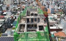 TP HCM: Tháo dỡ 7 công trình xây dựng sai phép ở quận 10