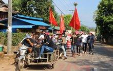 Quân đội Myanmar bắn người biểu tình, 1 nhà máy bị đốt
