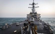 Trung Quốc theo sát tàu chiến Mỹ đi qua eo biển Đài Loan