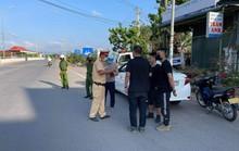 Chặn bắt ôtô chở 3 người Trung Quốc nhập cảnh chui
